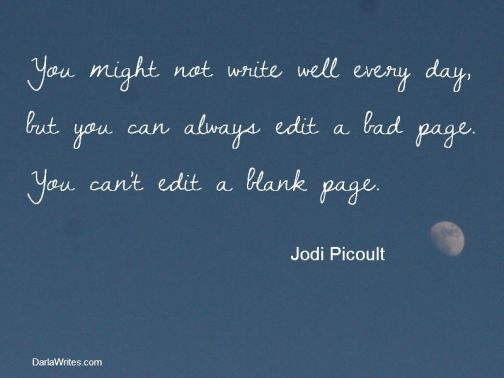you cant edit a blank page